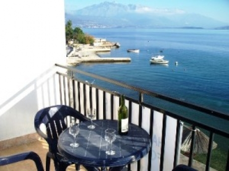 Montenegro apartment - balcony with views of mount Lovcen smaller