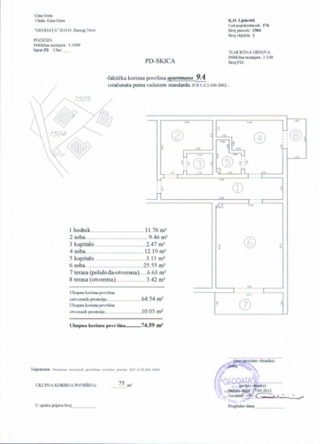exclusive apartment in montenegro - a9 11 floorplan 577x800